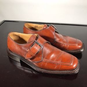 Italy MERCANTI FIORENTINI single strap Monk Sz 9.5